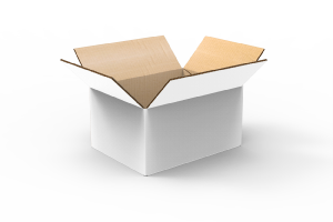 White Standard Shipping Boxes
